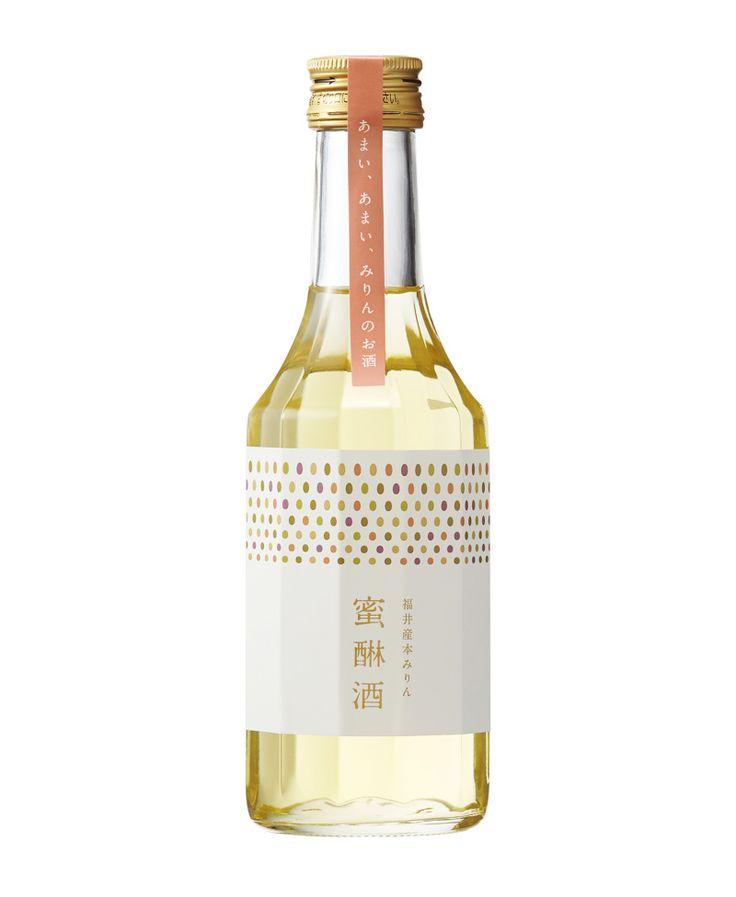 package design - mirin - rice liqueur