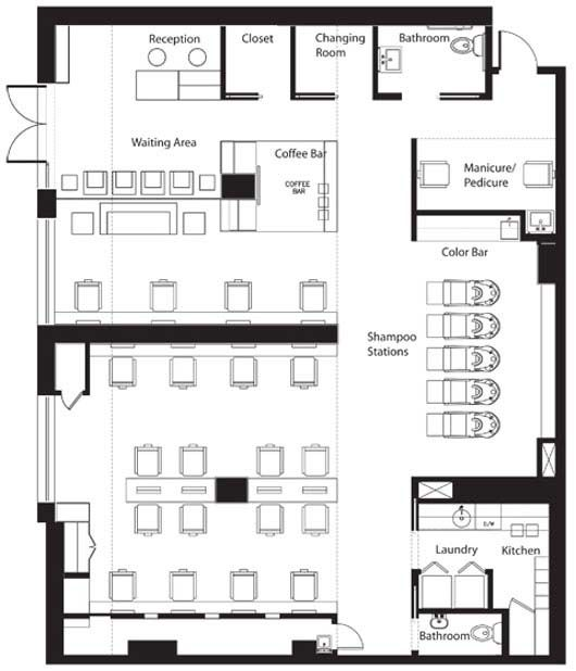 Beauty Salon Floor Plans Hair: 71 Best Images About Salon Interior On Pinterest
