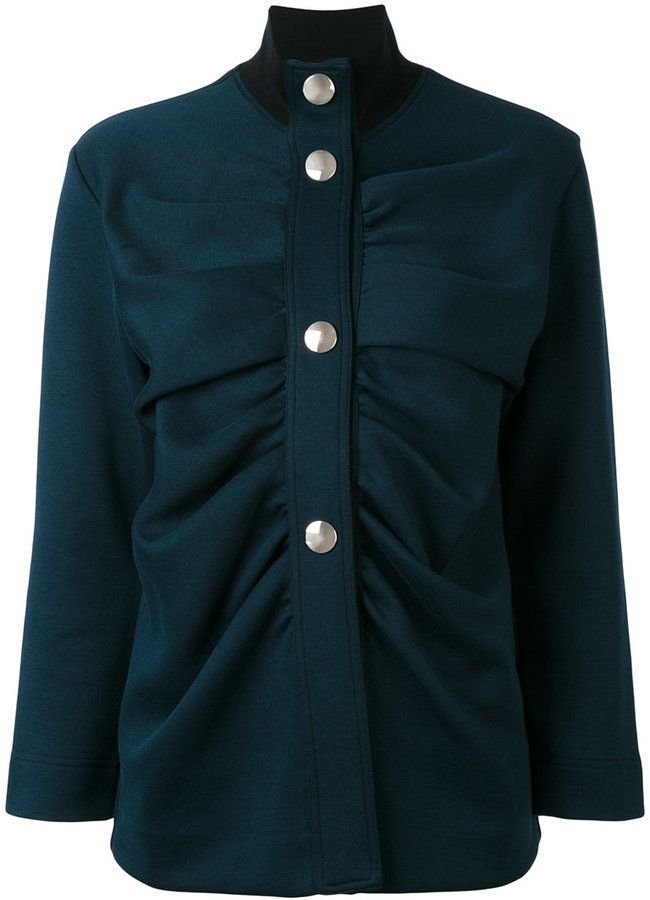 Marni high neck military style jacket