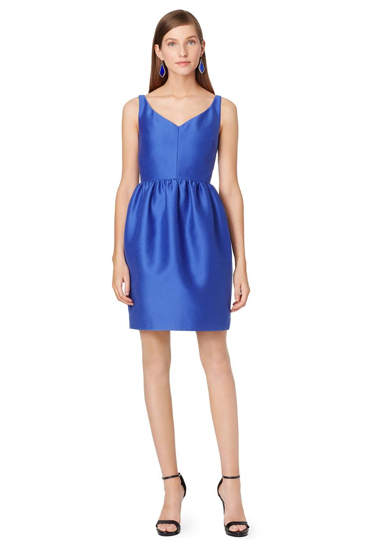 Lapiz Blue Dress from Rent the Runway for a wedding guest, featured on Dress for the Wedding