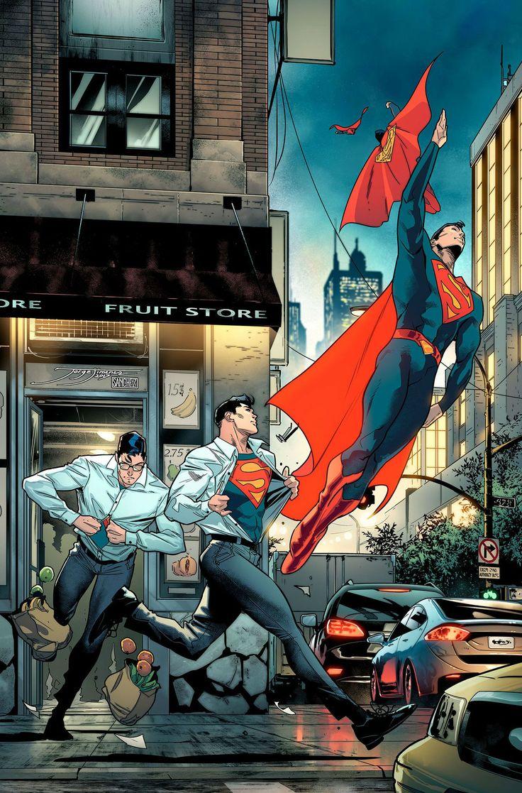 Superman de Jorge Jimenez.