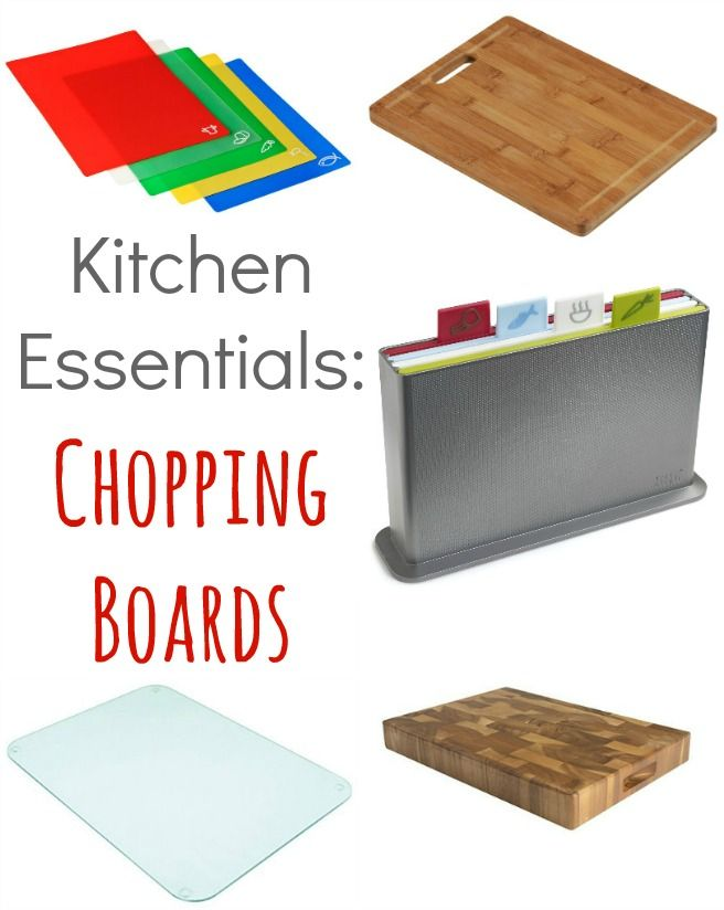 Kitchen Essentials – Chopping Boards