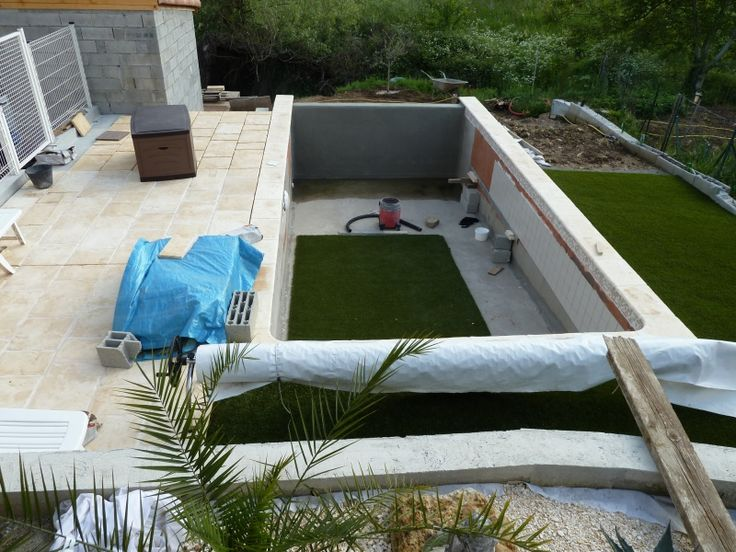 54 best Piscine images on Pinterest Swimming pools, Pools and - Piscine A Construire Soi Meme