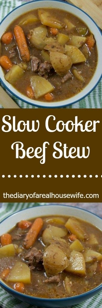 Slow Cooker Beef Stew. Have you tried this recipe yet. I love my slow cooker when having guest over. It keeps the food warm for the entire party.