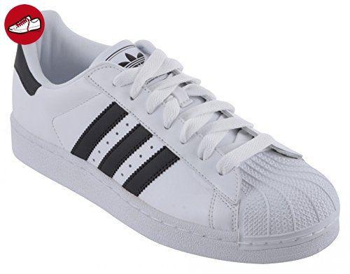 adidas Herren Sneaker Weiß Weiß/Schwarz, Weiß Weiß/Schwarz Größe: 42 - Adidas sneaker (*Partner-Link)