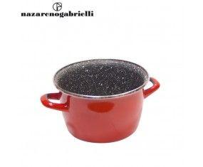 www.sconticasa.it  Pentola con rivestimento antiaderente e 2 manici  Adatta per esaltare la qualità dei sapori  Realizzata da Nazareno Gabrielli