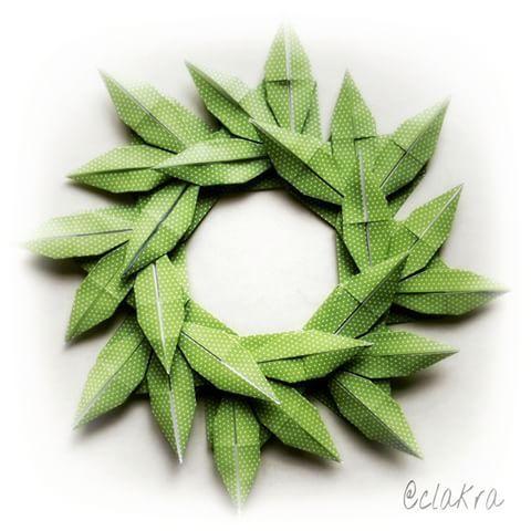 Bamboo grass wreath (Masayo Kameyama) 🌿