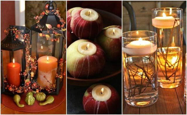 Jesienne inspiracje: lampiony i świece, które ożywią wnętrze