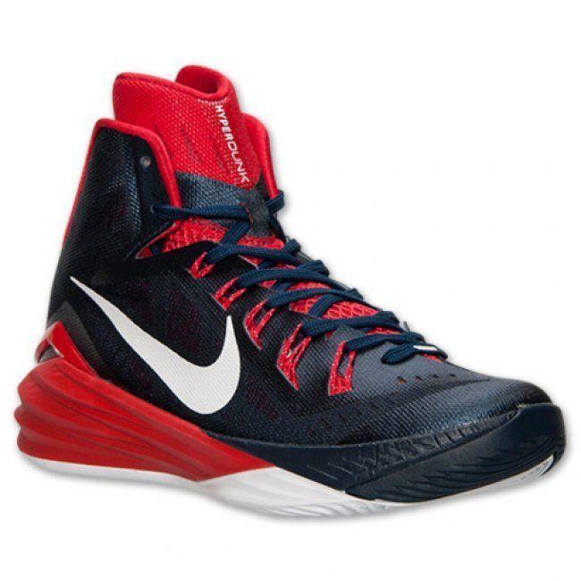 Zapatilla Nike Hyperdunk 2014 USA Negro/Rojo www.basketspirit.com/Zapatillas-Baloncesto/Zapatillas-Hyperdunk