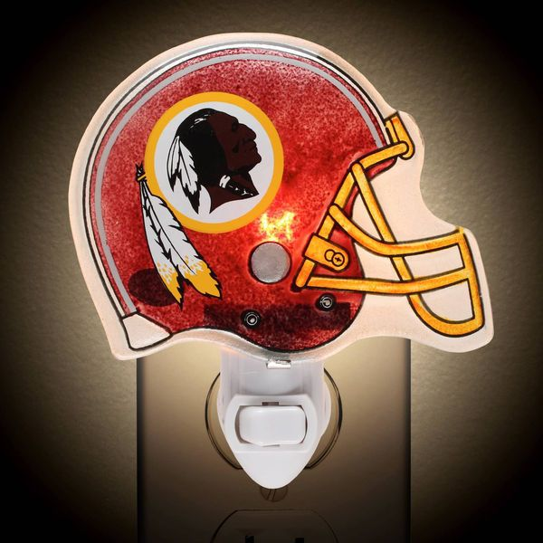 NFL Washington Redskins Night Light Burgundy Helmet Redskins Logo. New in Box. #NFLcom #WashingtonRedskins