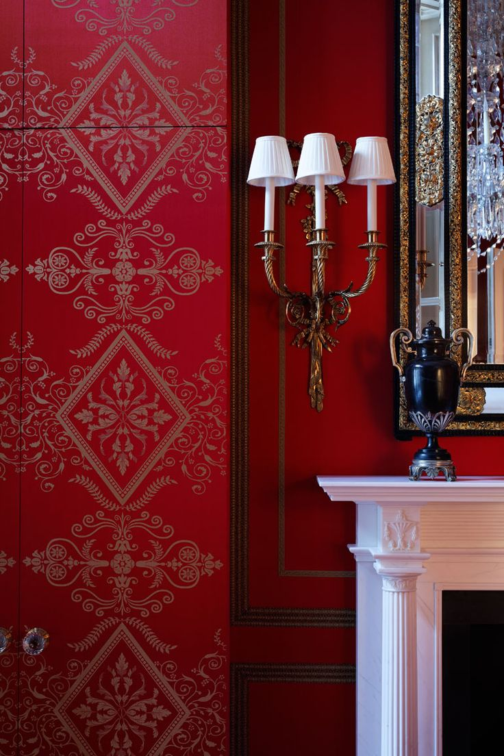 red damask wallpaper home decor www galleryhip com the floral wallcovering pvc wallpaper black silver damascus