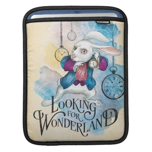 The White Rabbit | Looking for Wonderland 3. Regalos, Gifts. #fundas #sleeves