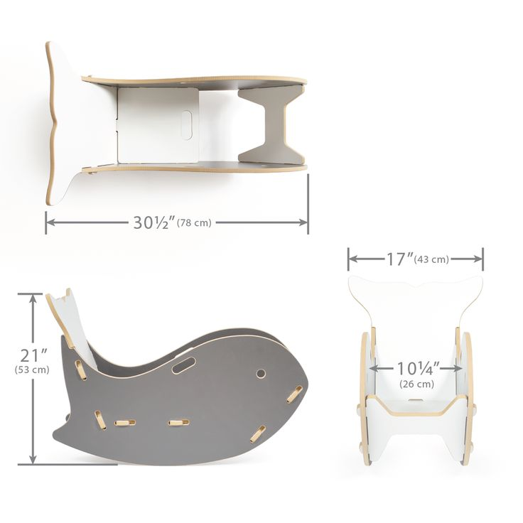 Sprout Whale Chair Dimensions