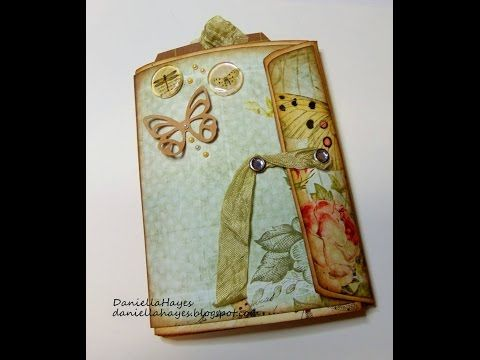 """6""""X9"""" ENVELOPE ALBUM PRINTABLE.  DT PROJECT FOR Jen Of Eve Designs - YouTube"""