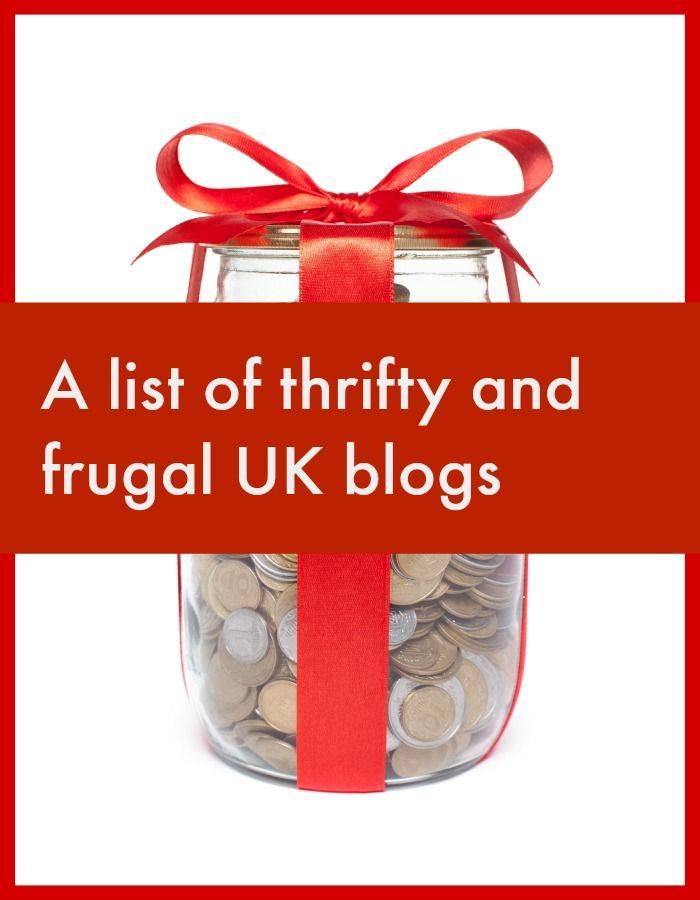 A fabulous list of thrifty and frugal UK blogs. Thrifty bloggers in the UK give brillaint tips across a wide spectrum .