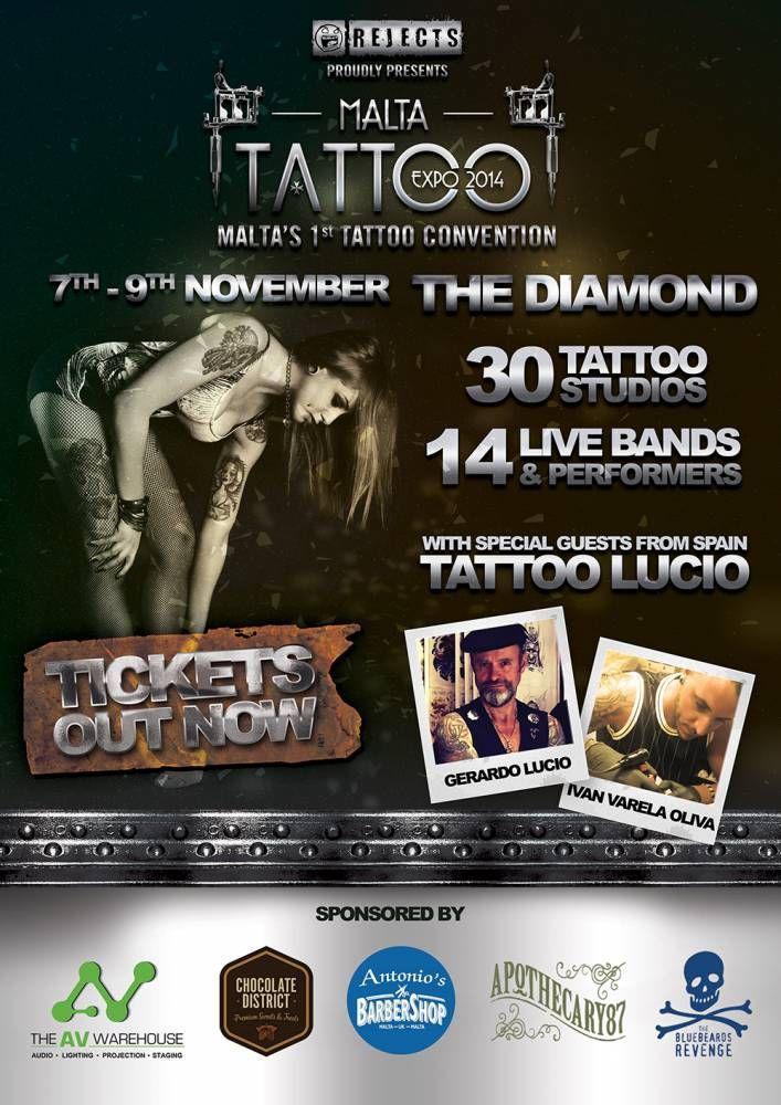 1st Malta Tattoo Expo | Tattoo Filter