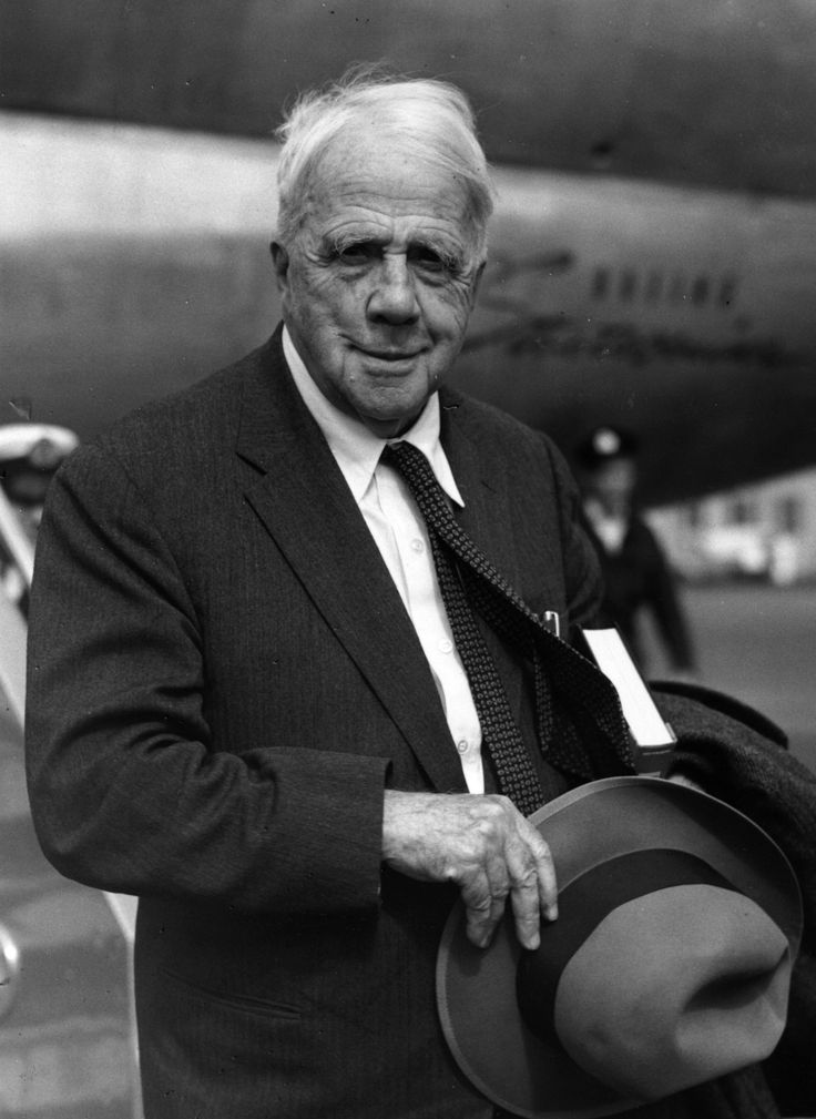 Robert Frost (March 26, 1874 - January 29, 1963) American poet.