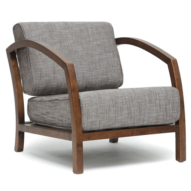 Superb Baxton Studio Velda Brown Modern Accent Chair Overstock Ibusinesslaw Wood Chair Design Ideas Ibusinesslaworg