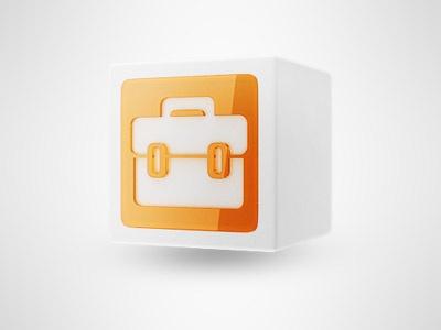 Box icon for dashboard  http://dribbble.com/shots/427407-Case-icon