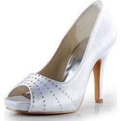 Scarpe da Sposa Bianche Avorio Rosse o Nere www-miamastore-com bianco
