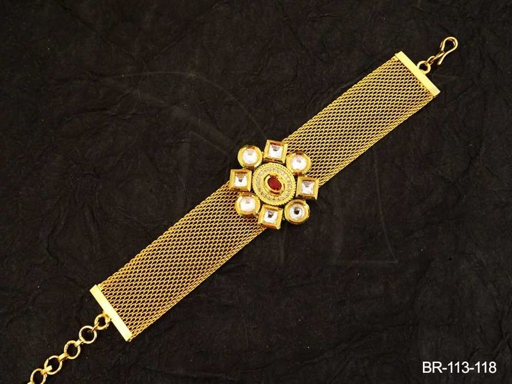 16 best Kundan Bracelets Imitation Jewellery images on Pinterest