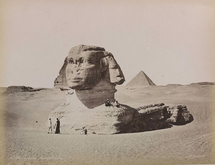 Esfinge de Gizé - Egito Antigo