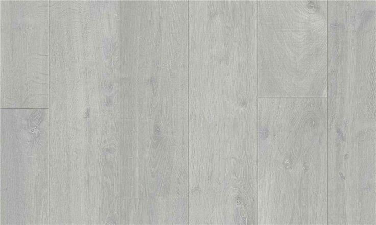 Pergo modern plank- 4v Kalket Grå Eik 1- Stav