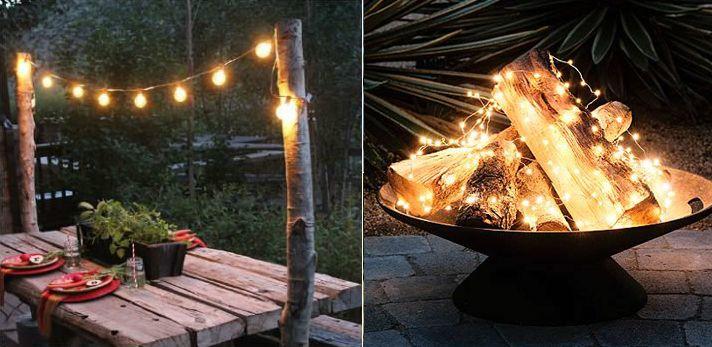 Zwoele zomeravonden; vier de zomer in eigen tuin! - Luxaflex | beelden via Pinterest