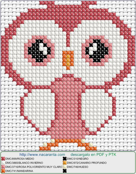 apink EN PUNTO DE CRUZ, Cross stitch patterns