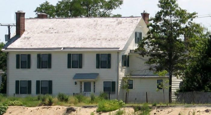 NEW JERSEY = The Seabrook Wilson House dates back to 1663 and is believed by some to be one of the most haunted places in the United States.