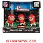 Kansas City Chiefs Lil' Teammates Collectible Team Set