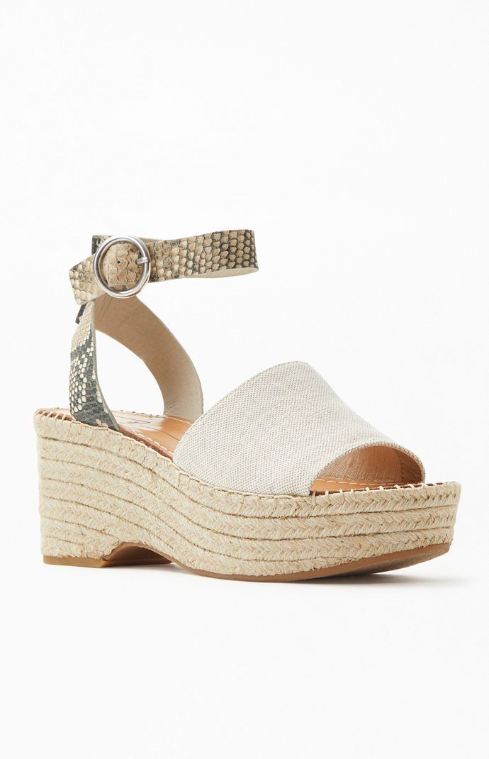bbb8647412f Dolce Vita Lesly Wedge Sandals in 2019 | Pac Sun | Sandals, Wedge ...