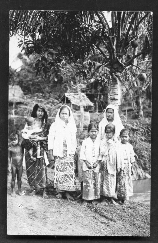 Indonesia, Javanese people 1919