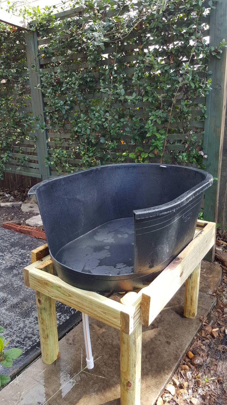 Diy outdoor dog washing station for under 75 diy dog