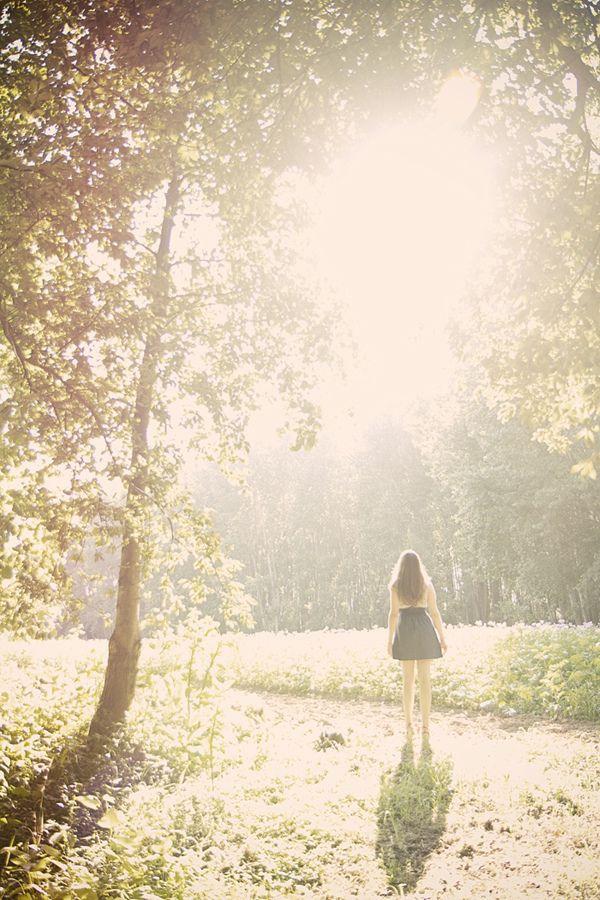 Que sua luz penetre em corpo e alma.