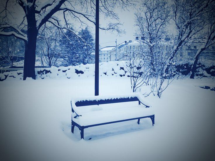 Winter time in Helsinki, Finland ❄️❄️❄️