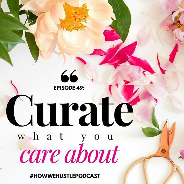 ✨Curate what you care about✨ #howwehustlepodcast #podcasting #markmanson #entrepreneurmindset #financialfreedom #spiritjunkie #quote #inspirationalquote #motivationalquote #businessquote #authentic #motivation #inspiration #business #entrepreneurship