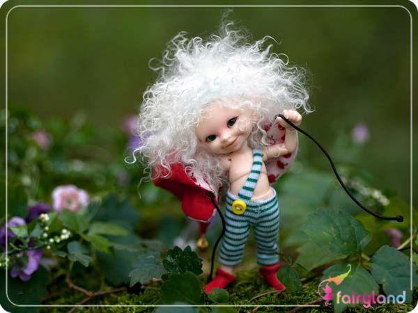 Cheap Bjd 1/12 bambola con trucco fata bambola realpuki soso bjd bambola occhi e ciglia inlcuded,
