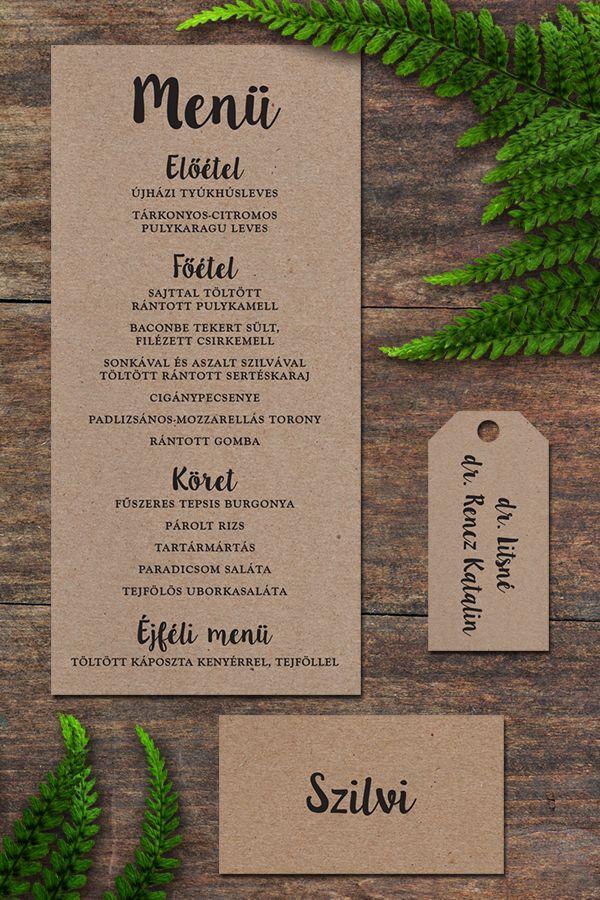 Rustic wedding goods - Rusztikus esküvői termékek