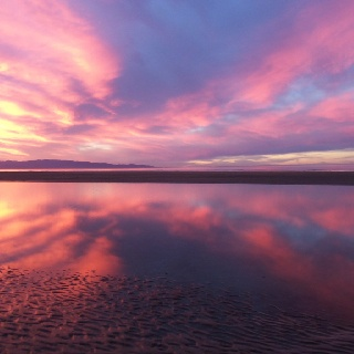The most amazing sunsets are seen right here in Nelson we are so lucky