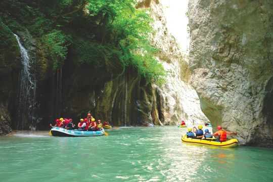 VISIT GREECE| Rafting in Epirus #Arachtos #Greece