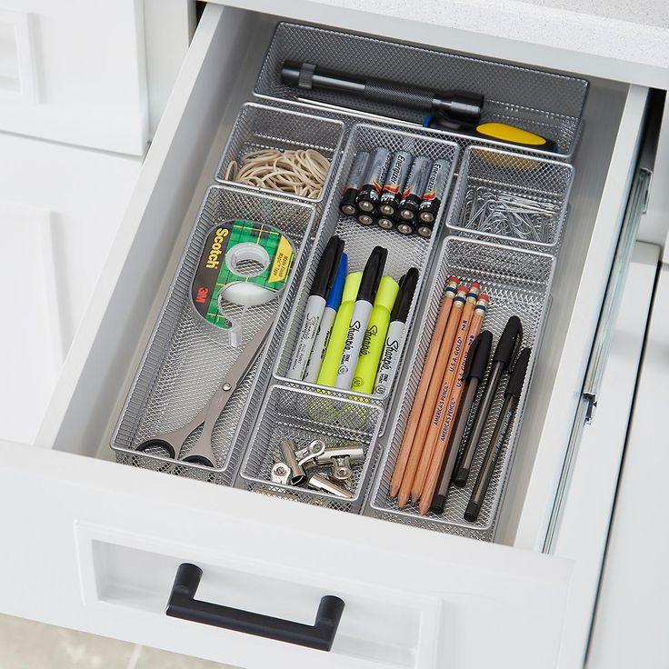 the 25 best desk drawer organizers ideas on pinterest. Black Bedroom Furniture Sets. Home Design Ideas