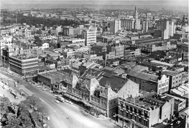 1950/60 Spring Street, East end of Melbourne city