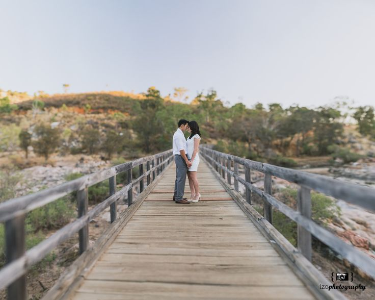 Norman + Leena. Panoramic stitching at Bells Rapids by iZO Photography