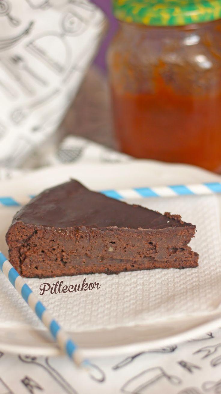 Pillecukor ♥: Sacher torta (glutén és cukormentes)