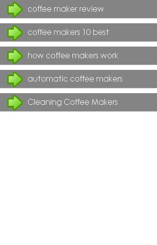 Coffee Maker<br>In this App you can see this topic.<br>1. About The Coffee Maker<br>2. Coffee Maker Cleaning<br>3. Coffee Maker Types<br>4. Coffee Makers Doing It Like Professionals<br>5. Coffee Makers For Different Coffee Types<br>6. Coffee Makers and Common Sense<br>7. Coffee Makers and Ebay are Perfectly Matched<br>8. Coffee Press The Original Coffee Maker<br>9. Coffee Cleaning Coffee Makers<br>10. Guide To Bunn Coffee Makers<br>11. How To Choose A Coffee Maker<br>12. How To Select A…