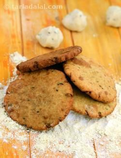Rice flour and soya flour replace refined wheat flour in these famous traditional rajasthani deep-fried treats! serve hot.