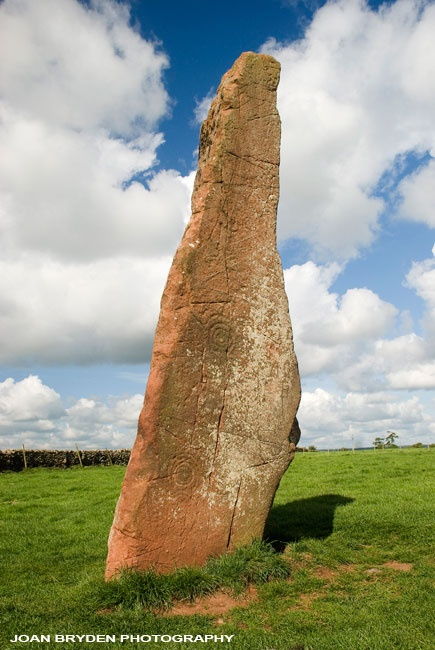 Long Meg, Little Salkeld, Cumbria, England, UK