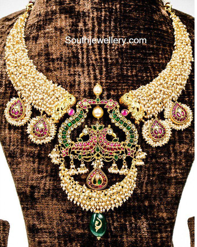 Basara Pearls Necklace photo Sagar Jewellers