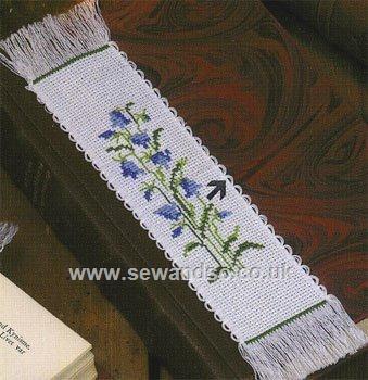 Buy Bluebell Bookmark Cross Stitch Kit Online at www.sewandso.co.uk